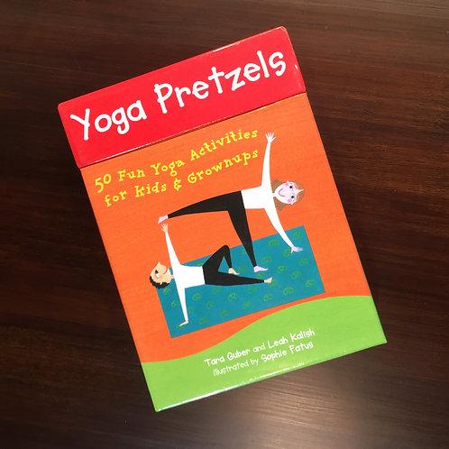 Yoga Pretzels - 50 Yoga Activities for Kids & Adults