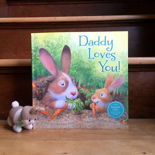 Daddy Loves You Book + Bunny Bundle