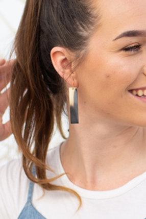 Baguette Horn Earrings by Atelier Calla