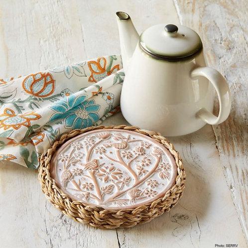 Birds of a Feather Warming Trivet