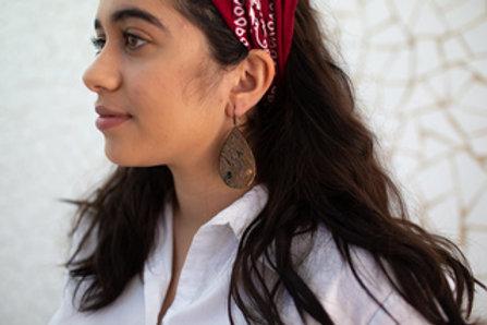 Petal Horn Earrings by Atelier Calla