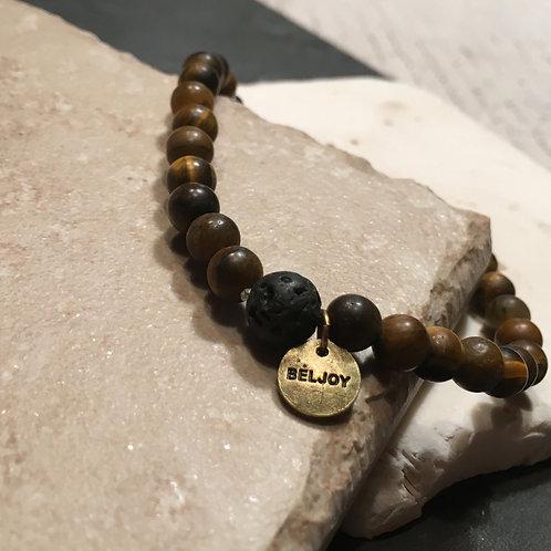 Milo Lava Bead Bracelet - Unisex