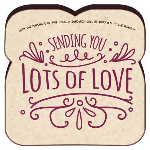 Lots of Love Card - Food for Thoughts