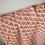 Thumbnail: Orange Triangle Hand-Loomed Cotton Throw