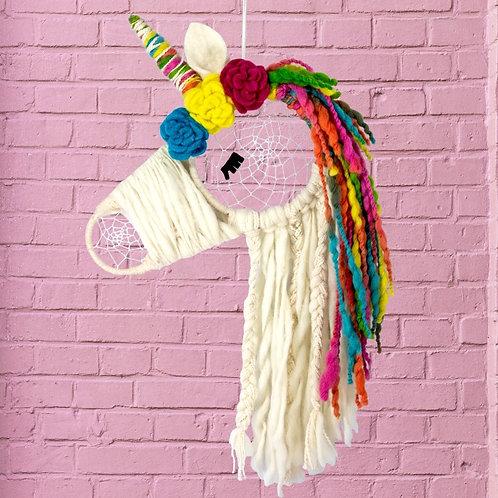 Rainbow Unicorn Dream Catcher