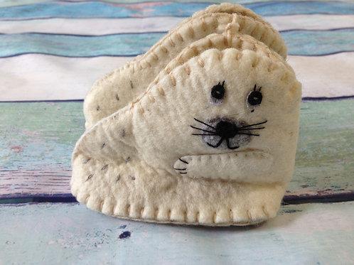 Arctic Seal Zootie Booties - Infant