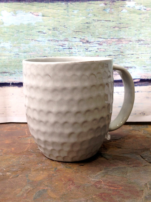 Bright Cloud Honeycomb Mug