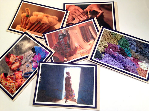 Artisan Photo Card Set - 6 cards