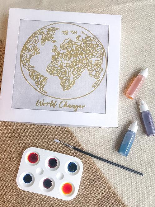 World Changers Batik Painting Kit