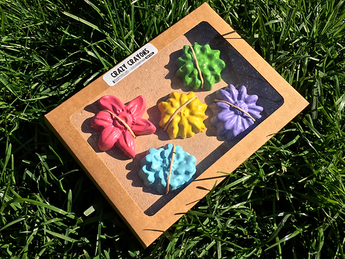 Flower Crazy Crayons - Solid Colors