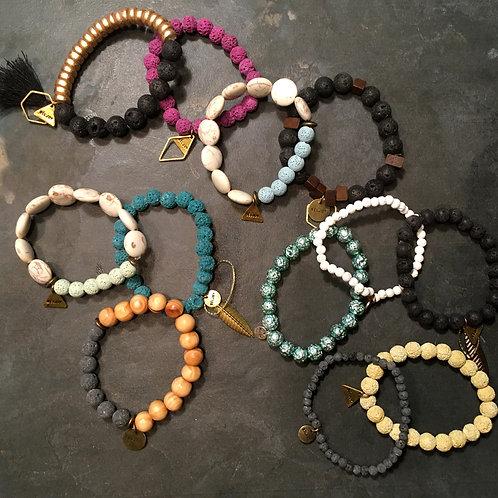 Lava Bead Bracelets
