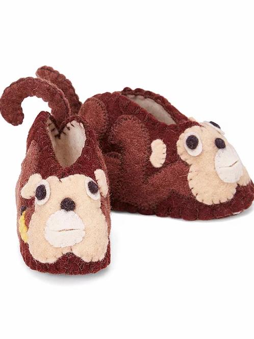Funny Monkey Zootie Booties - Infant