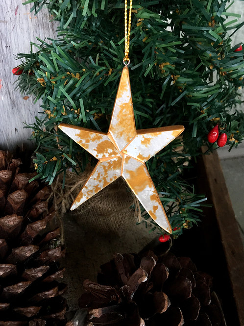 Star of Gold Ornament