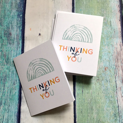Sanaa Thinking of You Cards - Set of 10 with Envelopes