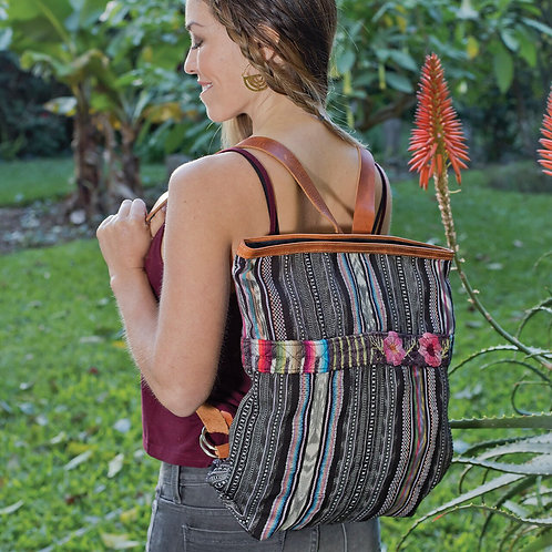 Embroidered Corte Backpack