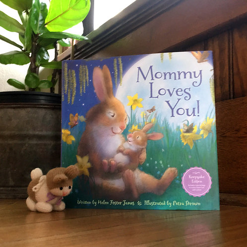 Mommy Loves You Book + Bunny Bundle