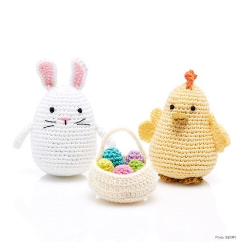Crocheted Easter Friends