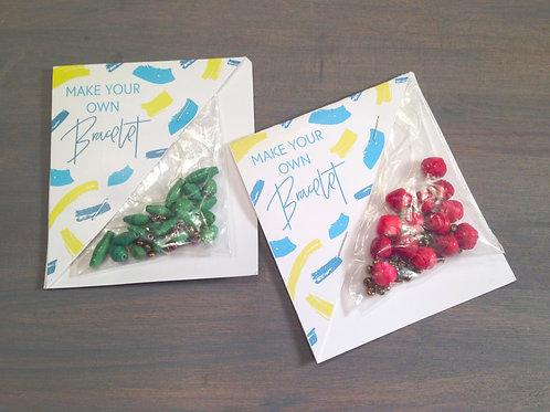 DIY Paper Bead Bracelet Kit