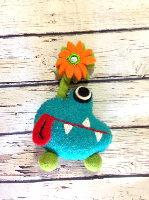 Tooth Monster - Teal