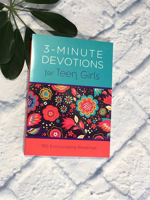 3 Minute Devotional for Teen Girls