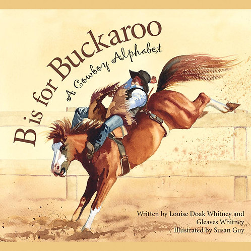 B is for Buckaroo - a Cowboy Book & Buddy Bundle