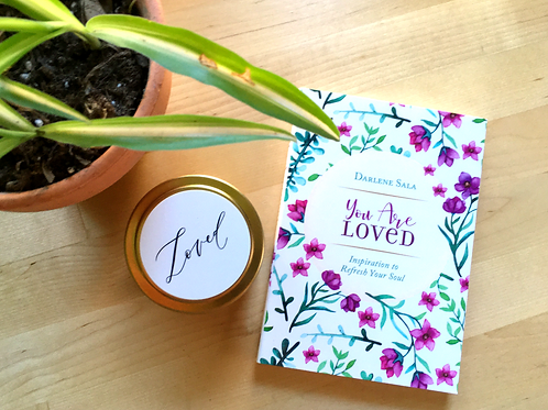 You are Loved Devotional + Loved Candle