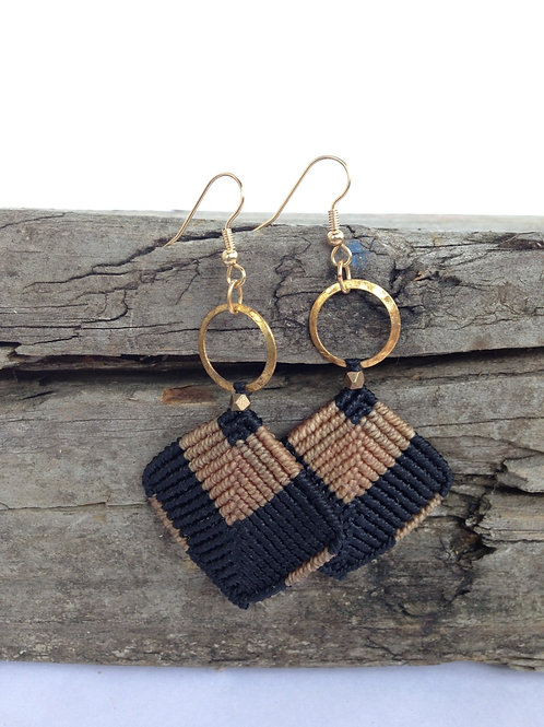 Macrame Drop Earrings