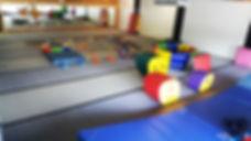Gym | Setup for Tumbling Classes