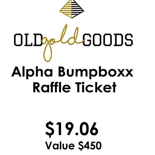 ALPHA Bumpboxx Raffle Ticket