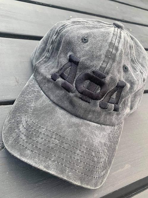Black jean washed ΑΦΑ dad hat!