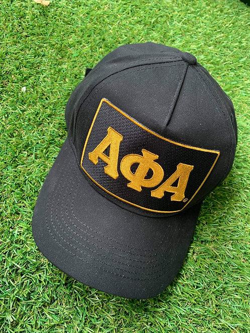 Classic Black/Gold ΑΦΑ Dad hat!