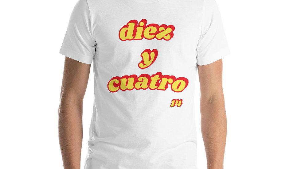 Diez Y Cuatro Unisex T-Shirt