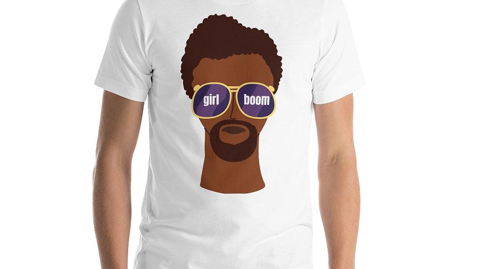 Girl Boom Guy Unisex T-Shirt