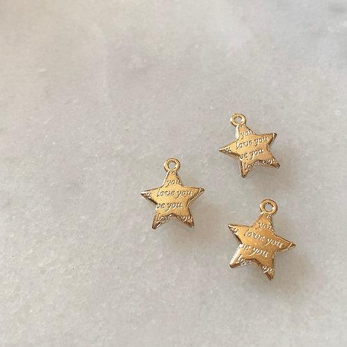 LOVE YOU STAR CHARM
