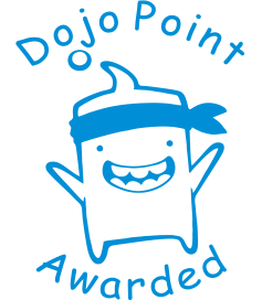 Dojo Point Awarded Stamp