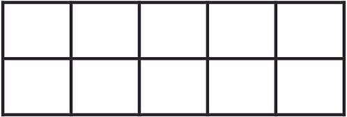 Maths 10's Frame Stamp