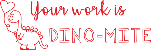DINO-MITE Stamp