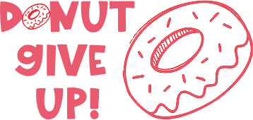 Donut Give Up Stamp