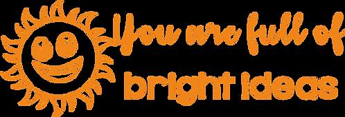 Bright Ideas Stamp