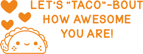 Awesome Taco Stamp