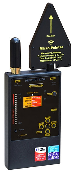 Protect 1206i детектор прослушки