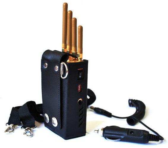 Black Wolf GT-12D портативный блокиратор (глушилка) сотовой связи и навигации GSM/GPS