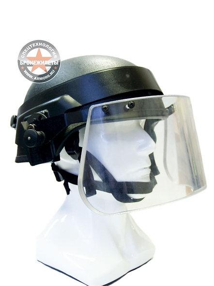 Забрало для шлема пулестойкое по Бр1 классу, съемное