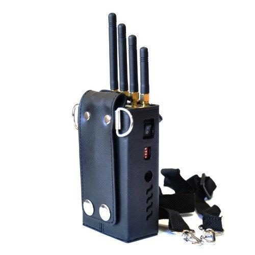 Black Wolf GT-12A Портативнаяглушилкамобильной связидля блокировки частот сотовой связи GSM900, GSM1800 и сети  3G