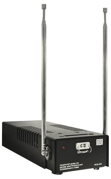ЛГШ-503 генератор шума для защиты информации от утечки по цепям электропитания, заземления и ПЭМИ