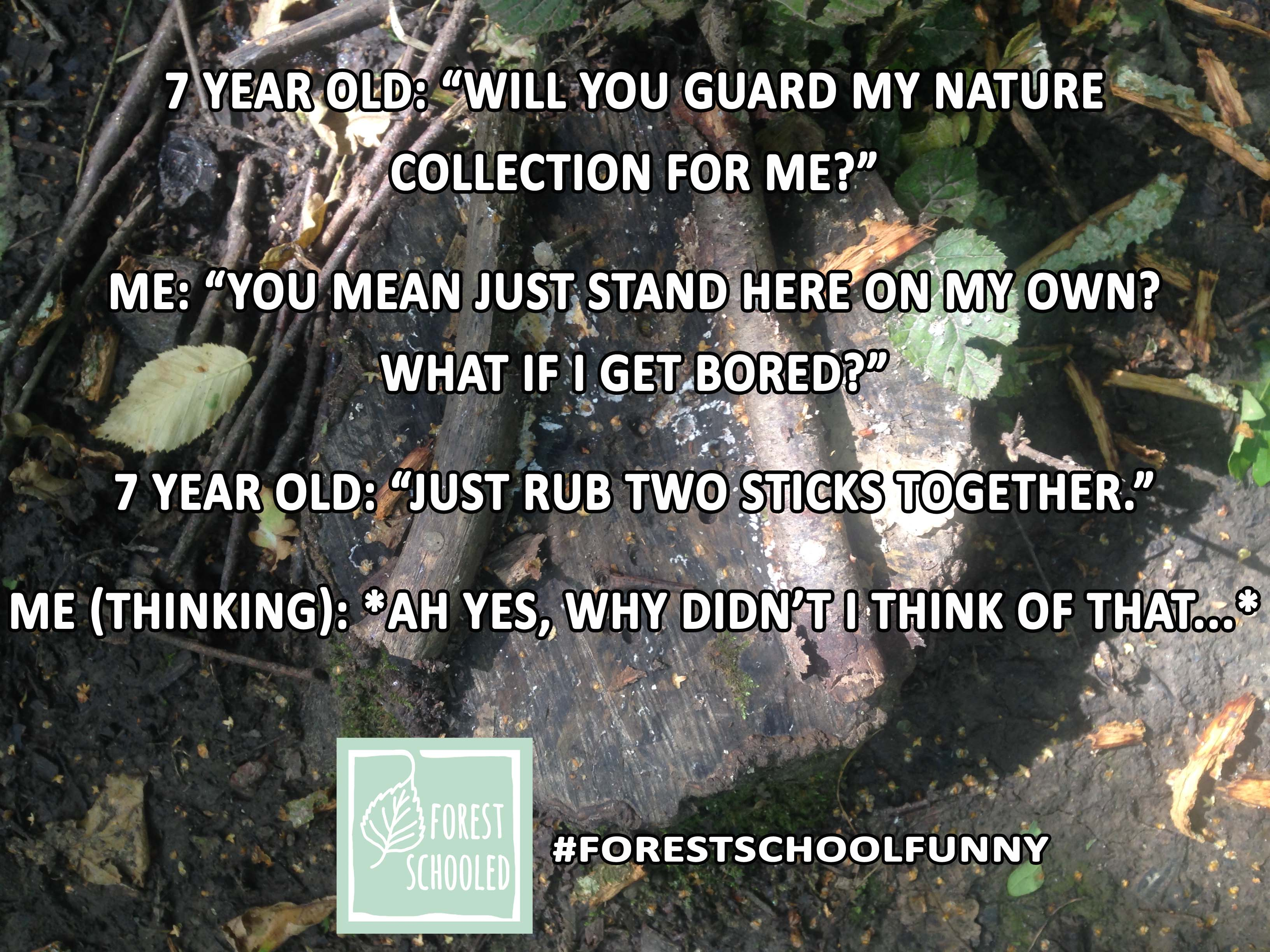 Forest School Funny20