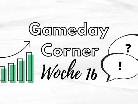 Gameday Corner Woche 16