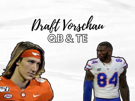 Draft Vorschau - QB & TE