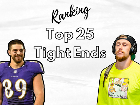 Ranking - Unsere Top 25 Tight Ends 2020