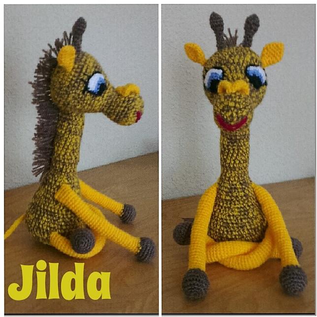 Jilda con J de jirafa